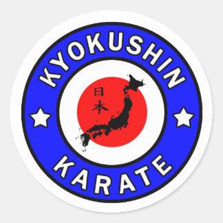 Pegatina del karate de Kyokushin
