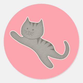Pegatina del Kat del gatito