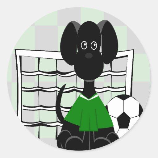Pegatina del LeiLani-Fútbol