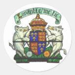 Pegatina del lema de Richard III