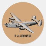 Pegatina del libertador B-24