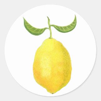 Pegatina del limón