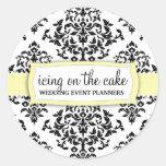 Pegatina del limón de la guinda del pastel 311