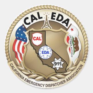 Pegatina del logotipo de CAL-EDA (logotipo grande)