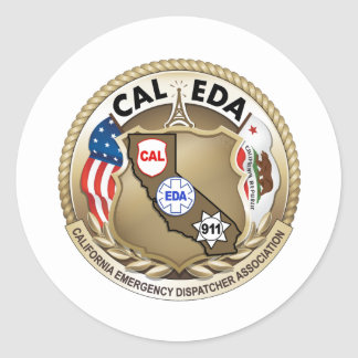 Pegatina del logotipo de CAL-EDA (pequeño