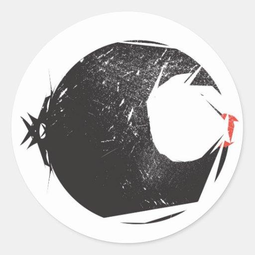 Pegatina del logotipo de Codak