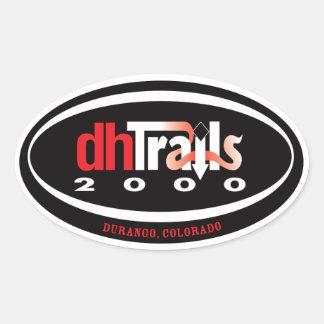 Pegatina del logotipo de DHT2K
