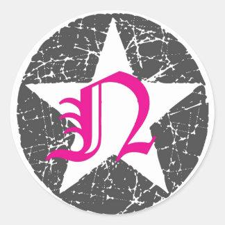 Pegatina del logotipo de DJ Nancy Starr