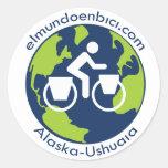 pegatina del logotipo de Elmundoenbici.com