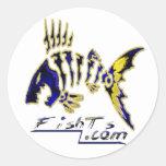 Pegatina del logotipo de FishTs