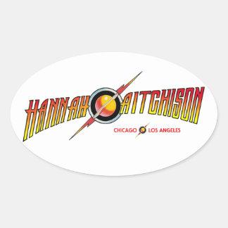Pegatina del logotipo de Hannah