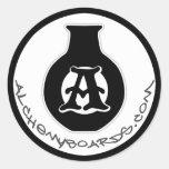 Pegatina del logotipo de la alquimia