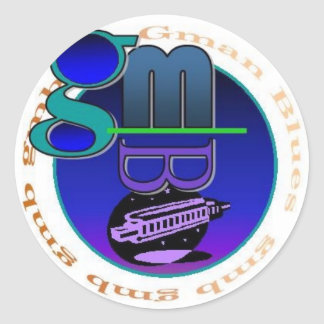 Pegatina del logotipo de los azules del Gman