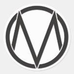 Pegatina del logotipo de Maine