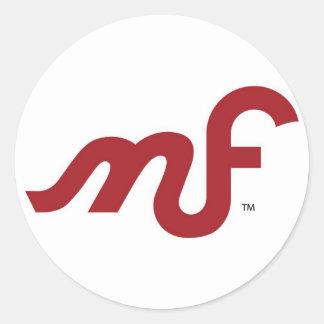 Pegatina del logotipo de MotoFemina frecuencia