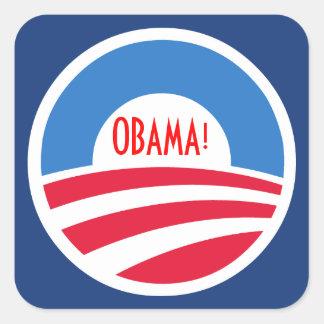 Pegatina del logotipo de Obama