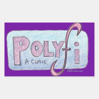 Pegatina del logotipo de PolyFi