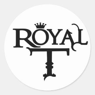 Pegatina del logotipo de RoyalT