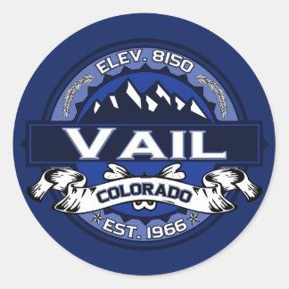 Pegatina del logotipo de Vail