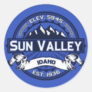Pegatina del logotipo del color de Sun Valley
