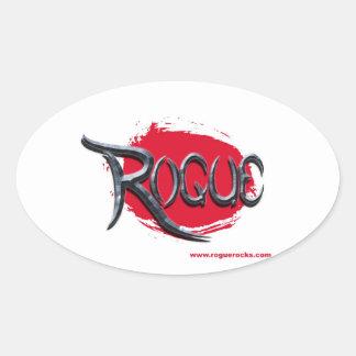 Pegatina del logotipo del granuja