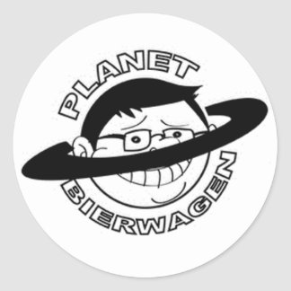 Pegatina del logotipo del PLANETA BIERWAGEN