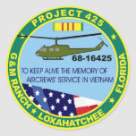 Pegatina del logotipo del proyecto 425