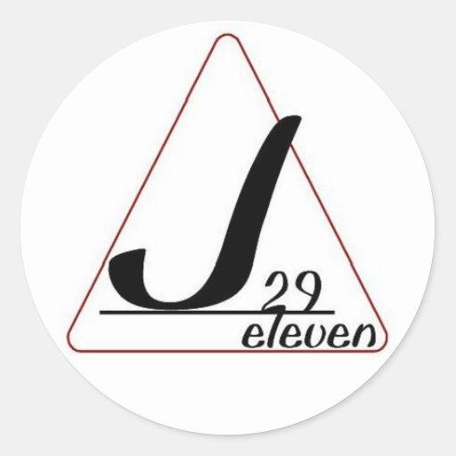 pegatina del logotipo J29 once