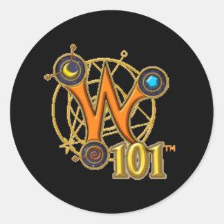 Pegatina del logotipo Wizard101