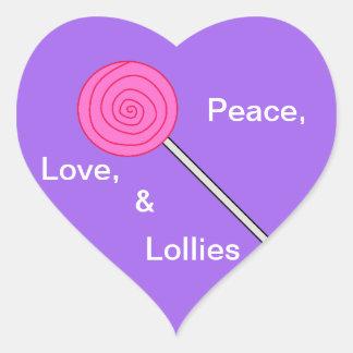 """Pegatina del lollipop de los """"polos cariñosos"""""""