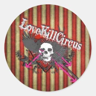 pegatina del lovekillcircus