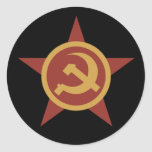 Pegatina del marcador del país de URSS