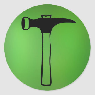 Pegatina del martillo