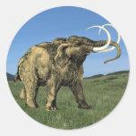 Pegatina del mastodonte