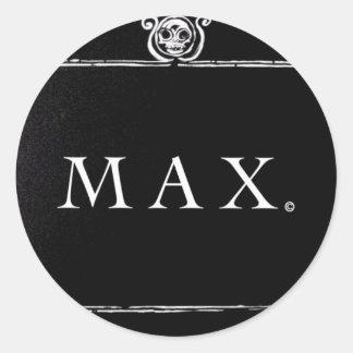 Pegatina del max