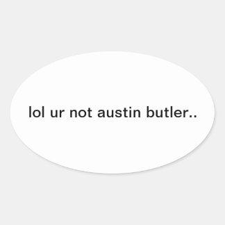 Pegatina del mayordomo de Austin