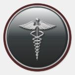 Pegatina del médico