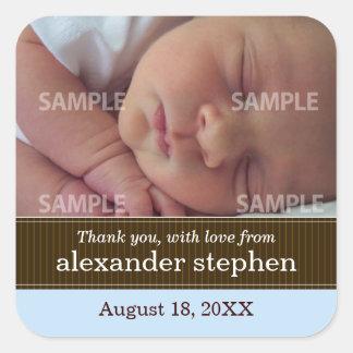 Pegatina del mensaje del bebé de la cinta de la