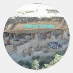 Pegatina del Mesa Verde