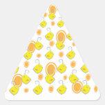 pegatina del modelo del amarillo del pájaro de