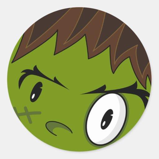 Pegatina del monstruo de Frankensteins