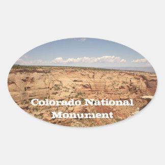 Pegatina del monumento nacional de Colorado