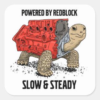 Pegatina del motor de la tortuga
