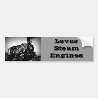 Pegatina del motor de vapor pegatina para auto