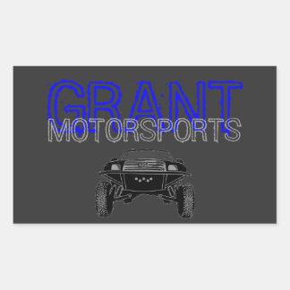 Pegatina del Motorsport