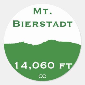Pegatina del Mt. Bierstadt