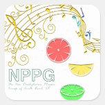 Pegatina del Musical de NPPG