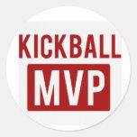 pegatina del mvp del kickball