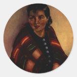 Pegatina del nativo americano