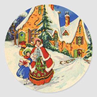 Pegatina del navidad